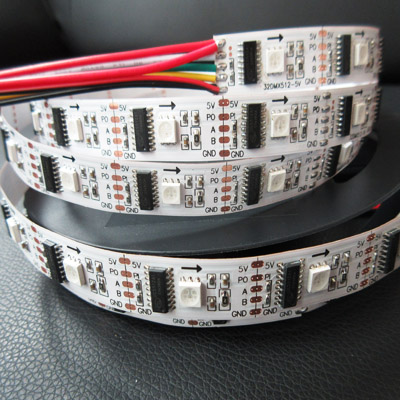 5050 rgb DMX512 full color digital led strip